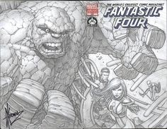 Fantastic Four 600 cover by Keown - wow!
