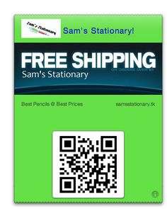Hey look at this Pass designed with Passdock: Sams Stationary!