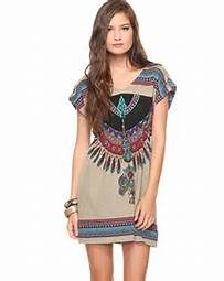 Hypnotik Tribal Print Dresses - Bing images