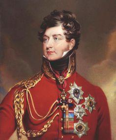 Portrait du roi George IV d'après Thomas Lawrence