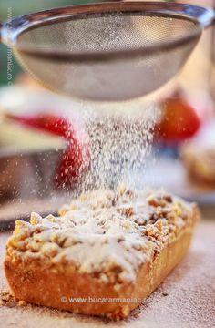 Prajitura cu mere si crumble cu nuca ~ bucatar maniac