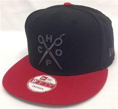 New Era 9Fifty FCS Frank's Chop Shop Scissor Black & Red Snapback