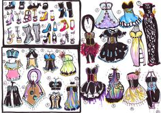 CLOSED- OUTFITS Mix and Match by Guppie-Adopts on deviantART