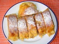1_jablecny-zavin-z-tvarohoveho-testa Apple Dessert Recipes, Czech Recipes, Sweet Breakfast, Chocolate Truffles, Sweet Cakes, Apple Pie, Sweet Recipes, French Toast, Muffins