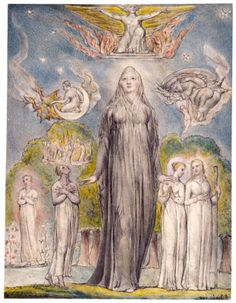 Illustration to Milton`s Paradise Lost - William Blake - WikiPaintings.org