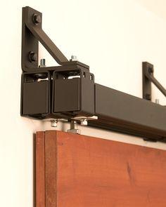 Stainless Box Rail Bypass Hardware (400 Lb). Bypass Barn Door ...