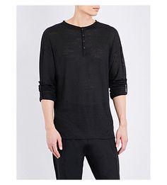 ISABEL BENENATO Oversized Linen-Jersey Tunic. #isabelbenenato #cloth #tops & t-shirts