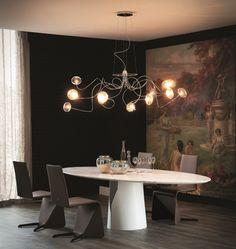 Wunderbar Chrome Plated Pendant Lamp OKTOPUS By Cattelan Italia Design Studio Kronos  Moderne Häuser, Innenbeleuchtung,