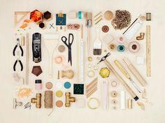 OK - a DIY book. Tools artfully arranged