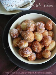 Gnocchi fritti dolci   ricetta dolci di carnevale