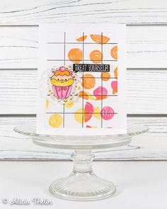 Treat Yourself! Hamster Food, Concord And 9th, Treat Yourself, Greeting Cards Handmade, Cas, Cardmaking, Color Schemes, Stampin Up, Paper Crafts