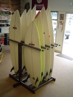 DIY Vertical Surfboard Rack - Google Search