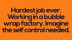 Bubble rap and self-control umm NO
