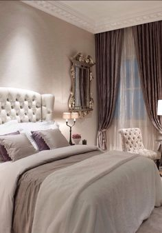 Luxury bedroom. French inspired.