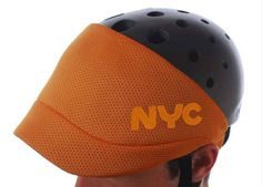 As part of Fuse Project , lucky designer Yves Behar was commissioned by NYC to create a series of bike helmets to help promote bike safety and awareness.