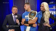 Intercontinental Champ, Miz and Maryse.