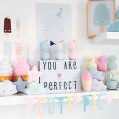 Best Shared Girls Bedroom – My Life Spot Dream Rooms, Dream Bedroom, Girls Bedroom, Girl Nursery, Girl Room, Unicorn Themed Room, A Little Lovely Company, Baby Room Themes, Cloud Lights