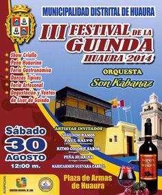 III Festival de la Guinda Huaura 2014 - Lima