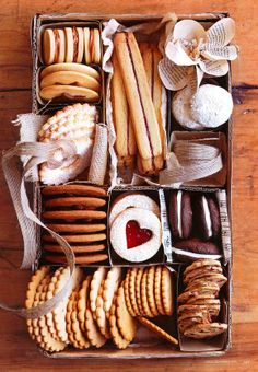 #Christmas #cookie #gift packaging idea ToniK ℬe Meℜℜy Country rustic