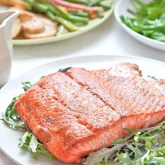 Salmon with Spring Veggies