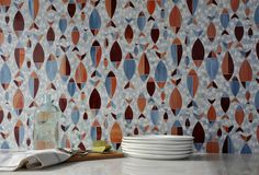Cupboards Kitchen and Bath: New Erin Adams Designs for New Ravenna Mosaics