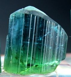 42.80 cts Top Quality Terminated & Gemmy BLUE GREEN TOURMALINE Crystal @ AFG