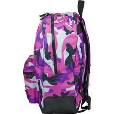 Mochila rosa camuflaje #backpack