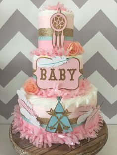 tribal themed baby shower girl - Google Search