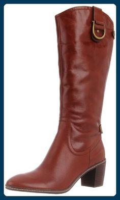 Anne Klein Brenton Damen Beige Rund Mode-Knie hoch Stiefel Neu/Display EU 39 - Stiefel für frauen (*Partner-Link)