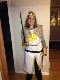"""Picture of King Arthur Costume (from """"Monty Python and the Holy Grail"""")"""