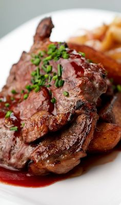 Sticky Pork Chops Recipe