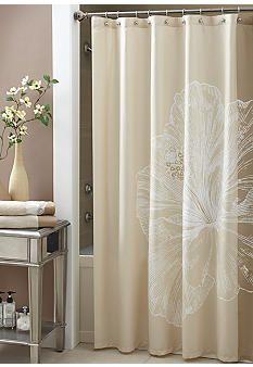 Croscill Hibiscus Shower Curtain