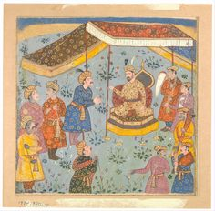 Mughal empire persian culture and dating