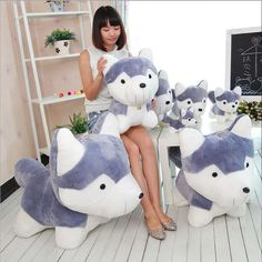 $27.33 (Buy here: https://alitems.com/g/1e8d114494ebda23ff8b16525dc3e8/?i=5&ulp=https%3A%2F%2Fwww.aliexpress.com%2Fitem%2F60-90-cm-Husky-Stuffed-animal-Cartoon-Plush-Toys-Stuffed-animals-toys-Kids-Dolls-birthday-gift%2F32703363887.html ) 1pc 60-90 cm Husky Stuffed animal Cartoon Plush Toys Stuffed animals toys Kids Dolls birthday gift for boyfriend Animal doll for just $27.33