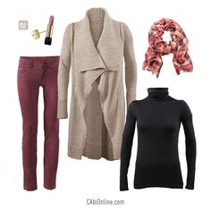 #CAbi – Cozy up in our Oatmeal Confetti Sweater. Click to see more need-now sweaters. #fallfashion #cabiclothing