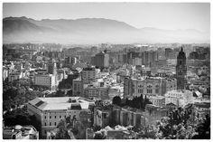 view from alcazaba of malaga / aRRO