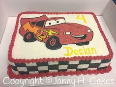 Cars  Janny H. Cakes  www.facebook.com/jannyh.cakes