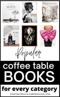 Most Sold Coffee Table Books to Decorate Your Living Room   Coffee table books, as the name says it, are great as a decor idea for your coffee table styling. If you have a coffee table project, chances are you are searching for stylish, elegant and statement coffee table books for your central table design. Find a selection of best coffee table books on Amazon, from popular categories (Fashion, Home Decor, Travel and Culture) #coffeetablebook #bestcoffeetablebooks #fashionbooks #travelbooks…