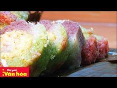 [Món ngon ngày tết] Cách gói bánh tét ngũ sắc cực đẹp - YouTube