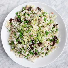 Food & Wine's Italian Rice Salad with Soppressata and Caciocavallo is the perfect lunch dish.