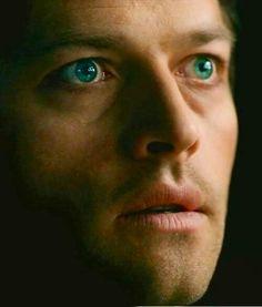 Castiel  Those eyes