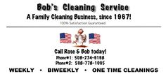 Give the gift of clean! Let Bob do the work and Mom can relax. Cape Cod Home and Office Cleaning Services - Bobs Cleaning Office Cleaning Services, Cleaning Business, Chamber Of Commerce, Cape Cod, Bobs, Mother Day Gifts, Relax, Gift Ideas, Cod