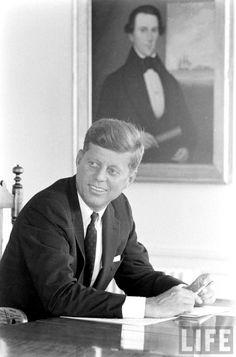 Sen. John F. Kennedy Date taken:August 6, 1960  ❤❤❤❤❤  http://en.wikipedia.org/wiki/John_F._Kennedy