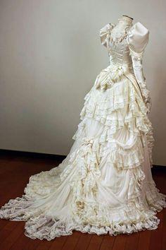 1890 wish wedding dress