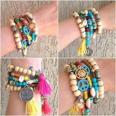 Pulseira e Colar Boho | The Joy Bijoux & Acess | Elo7
