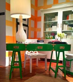 High Point Highlights: A Colorful Lifestyle at Lilly Pulitzer Home High Point Market Fall 2012   Apartment Therapy