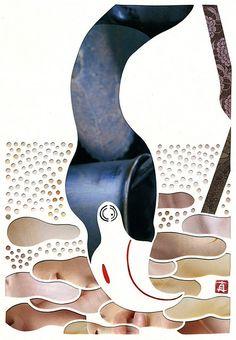 藤野真由子 - Mayuko Fujino (paper cut artist)