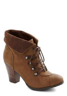 Vintage Retro Boots-Barks and Recreation Bootie from ModCloth $54.99
