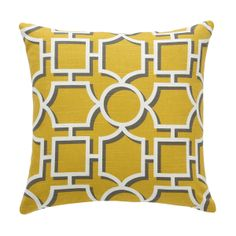 NEW | Vreeland Citrine Pillow