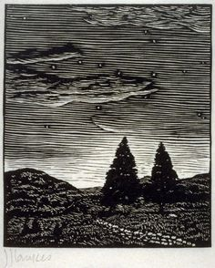 Julius Lankes, wood engraving